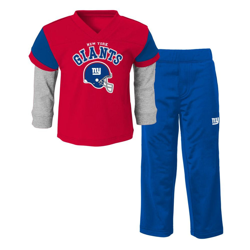 Giants Infant/Toddler Jersey Style Pant Set