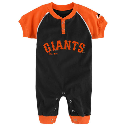 SF Giants Baby Uniform Coverall