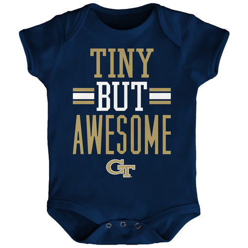 Tiny But Awesome Georgia Tech Onesie