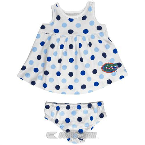 Florida Baby Dotty Sundress with Bloomers