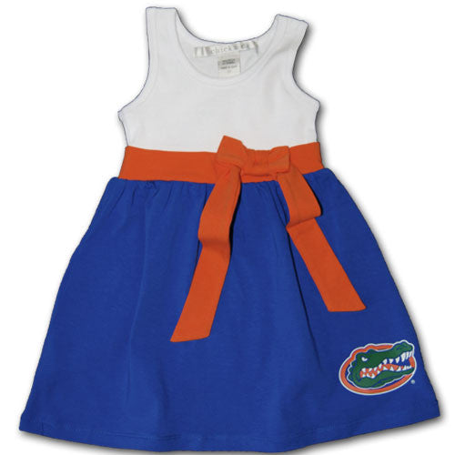 Florida Toddler Bowtie Dress
