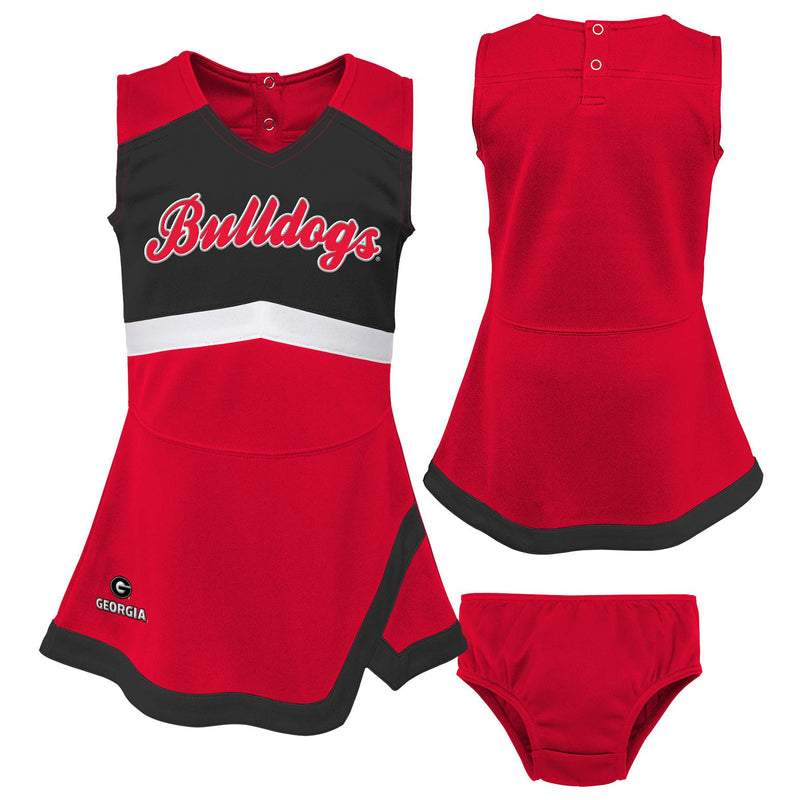 Georgia Girls Cheerleader Outfit