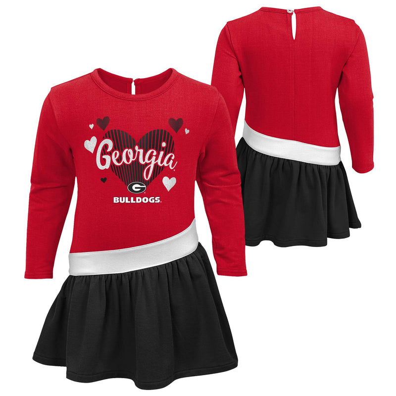 Georgia Girls Heart Jersey Dress