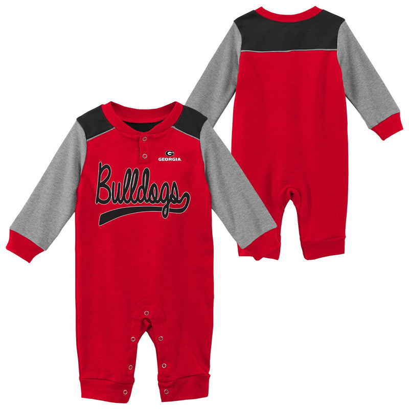 Georgia Game Time Long Sleeve Coverall