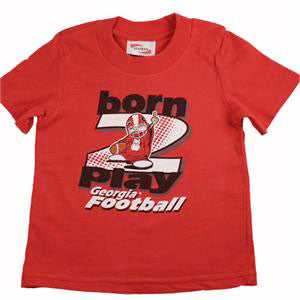 Georgia Infant Football T Shirt