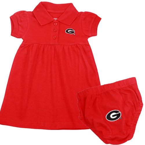 Georgia Polo Dress with Embroidered Bloomers
