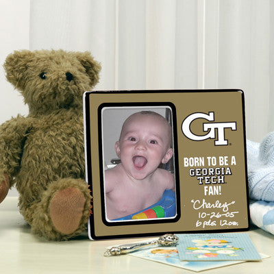 Born To Be a Georgia Tech Fan Picture Frame