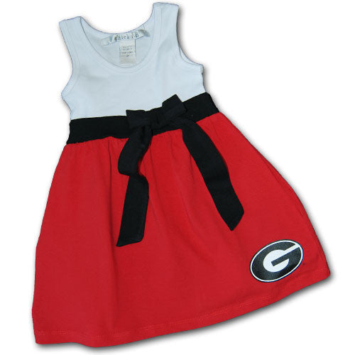 GEORGIA TODDLER BOWTIE DRESS