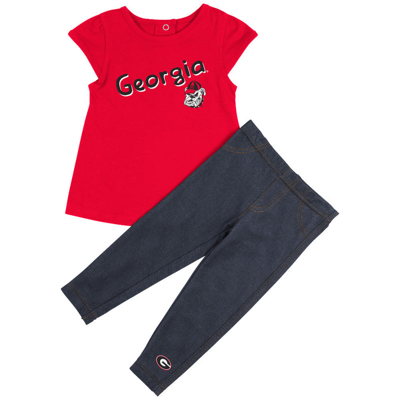 Bulldogs Girl Tunic & Leggings