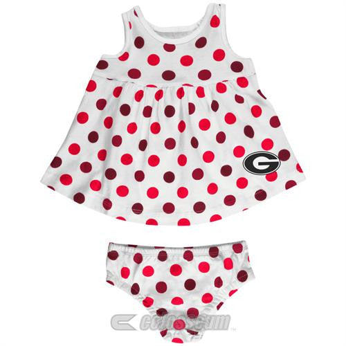 Georgia Baby Dotty Sundress with Bloomers
