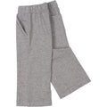 French Terry Infant and Toddler Boys Gray Pants
