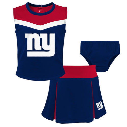 Giants Girl 3 Piece Cheerleader Set