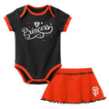 SF Giants Princess Bodysuit & Skirt Set