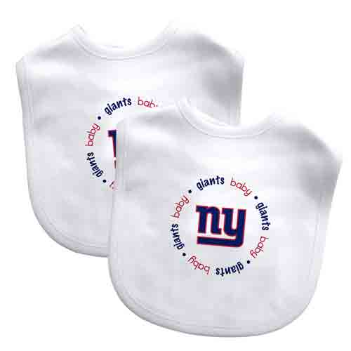 Embroidered Giants Baby Bibs (2 Pack)
