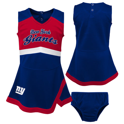 New York Giants Infant Cheerleader Dress
