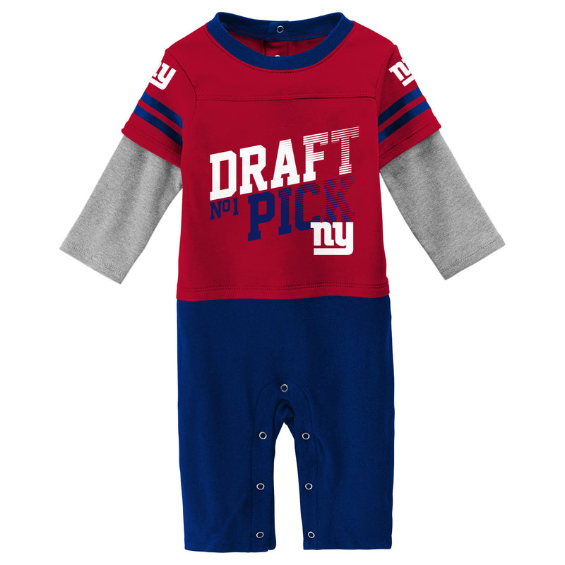Giants Boy Long Sleeve Coverall
