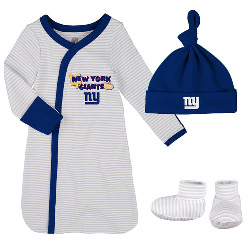 Giants Newborn Gown, Cap, and Booties