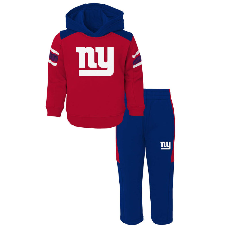 Giants Hooded Fleece Lined Set