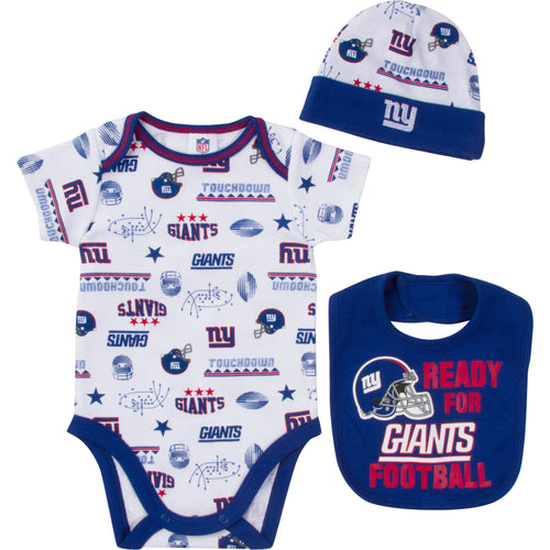 bad7f2221 NFL Infant Clothing – New York Giants Baby Apparel – babyfans