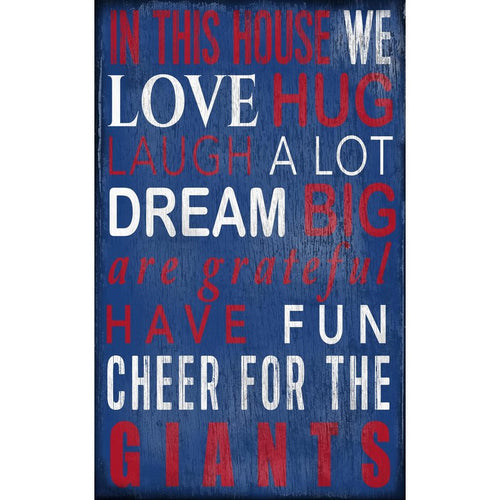Giants Baby Nursery Wall Art