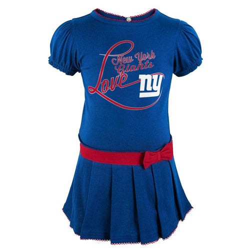 Giants Girl Drop Waist Dress  sc 1 st  BabyFans.com & NFL Infant Clothing u2013 New York Giants Baby Apparel u2013 babyfans