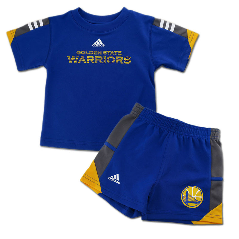 Warriors Classic Short Sleeve Shirt and Shorts Set