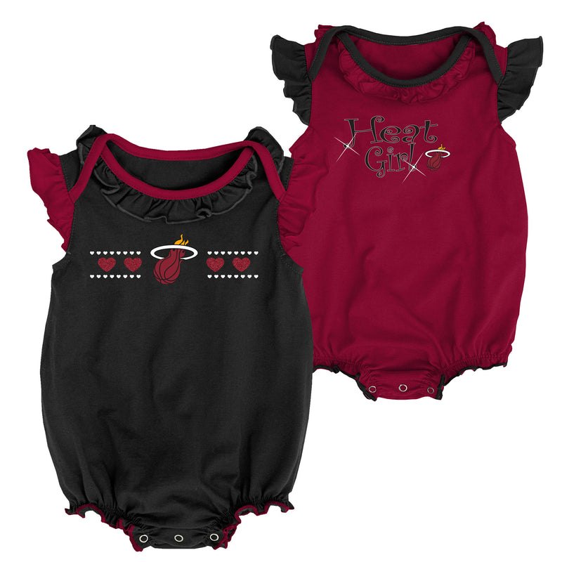 Heat Baby Girl Duo Bodysuit Set