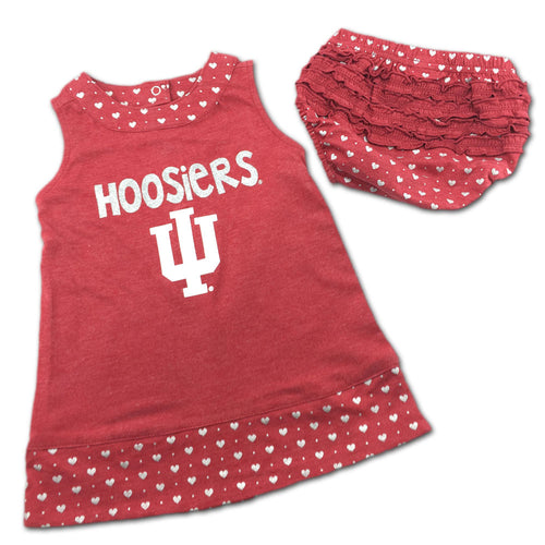 Indiana Spirited Heart Dress with Bloomers