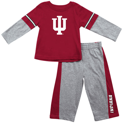 Indiana Infant Long Sleeve Tee and Pants