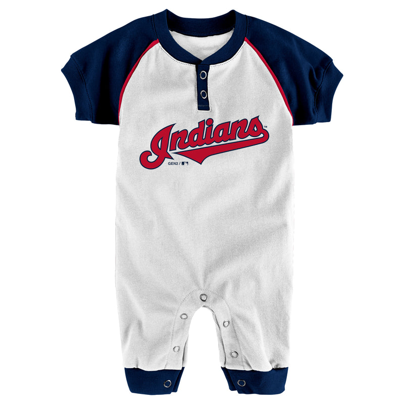 Indians Baby Team Coverall