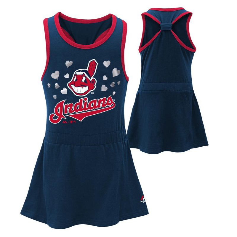 Indians Girl Criss Cross Tank Dress