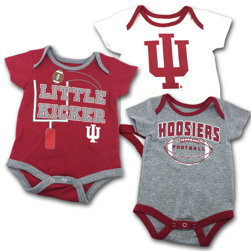 Indiana Little Kicker Onesie 3-Pack