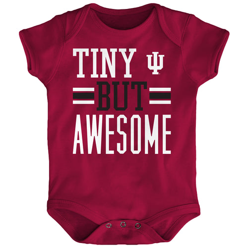 Tiny But Awesome Indiana Onesie
