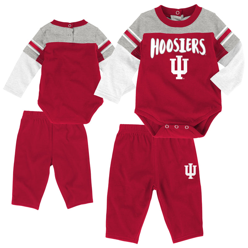 Indiana Long Sleeve Creeper & Pants Outfit