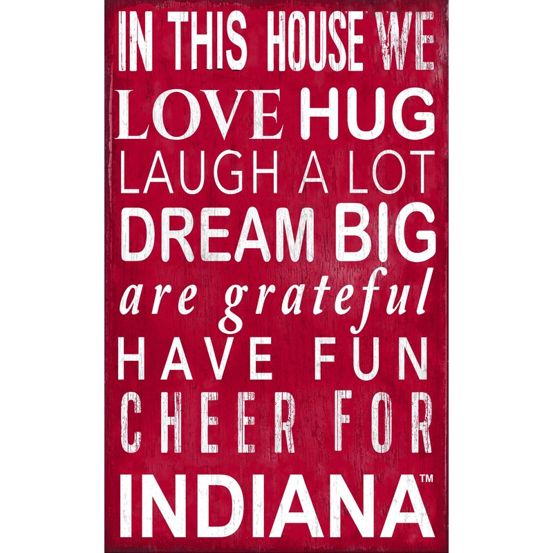 Indiana Baby Nursery Art