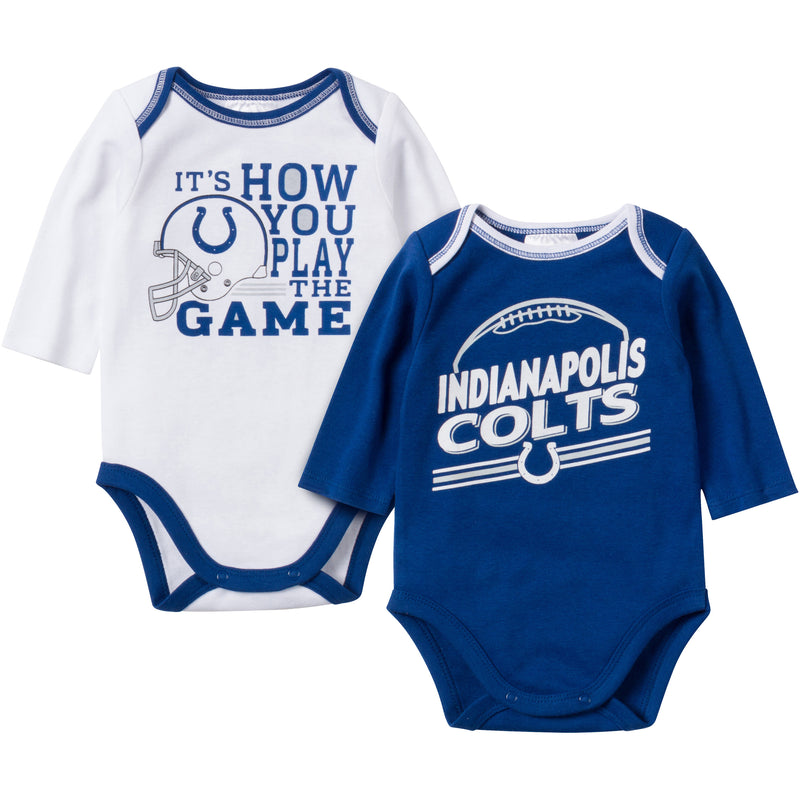 Baby Colts Fan Long Sleeve Onesie 2 Pack