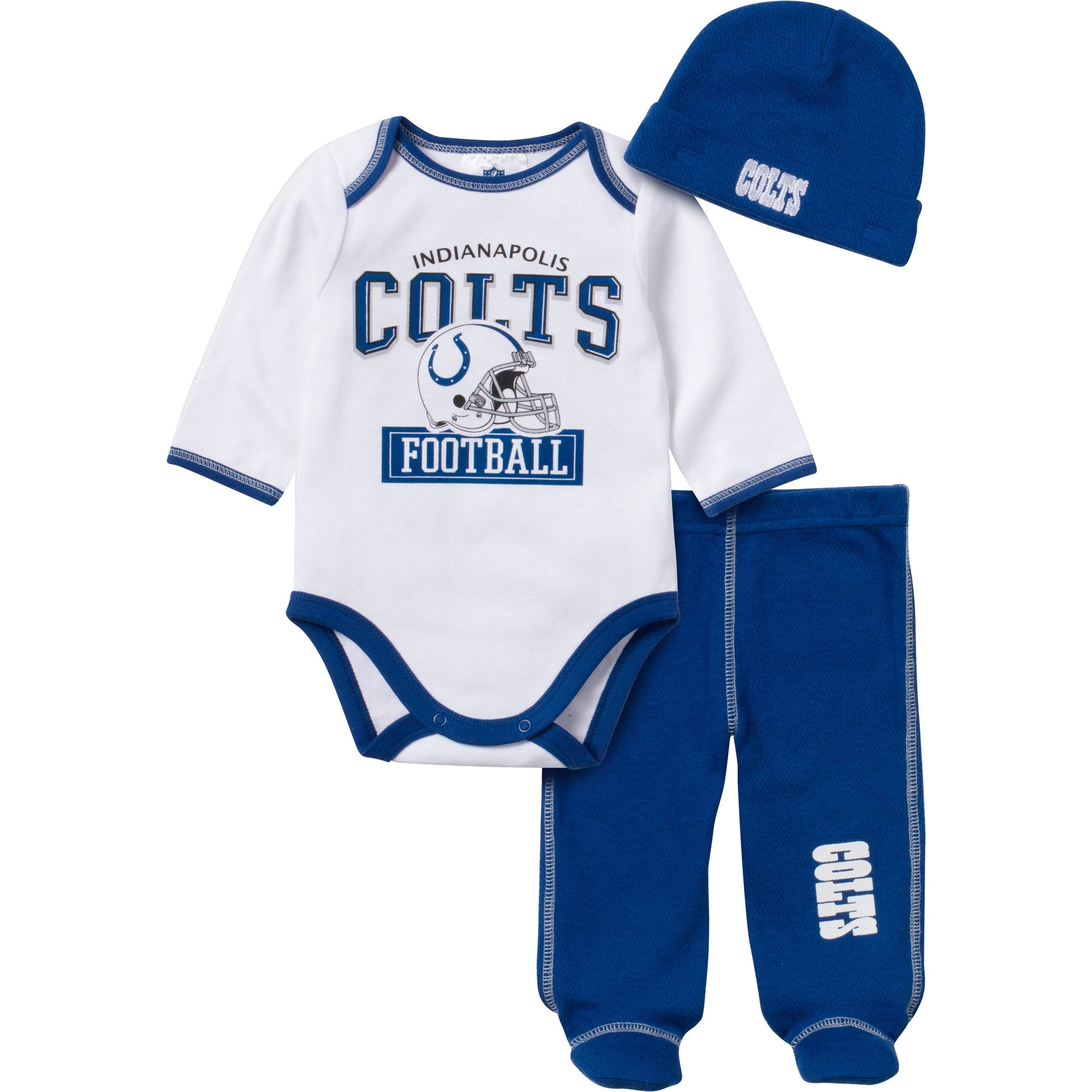 Baby Colts Fan 3 Piece Outfit