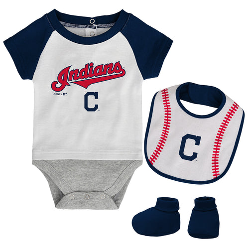 Cleveland Indians Newborn Outfit