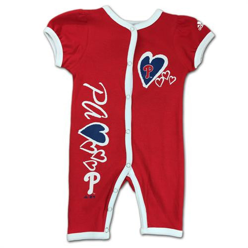 Philadelphia Phillies Baby Girl Sleeper – babyfans 5c5c74fb9ac