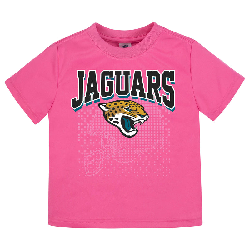 Jacksonville Jaguars Girls Short Sleeve Tee Sh