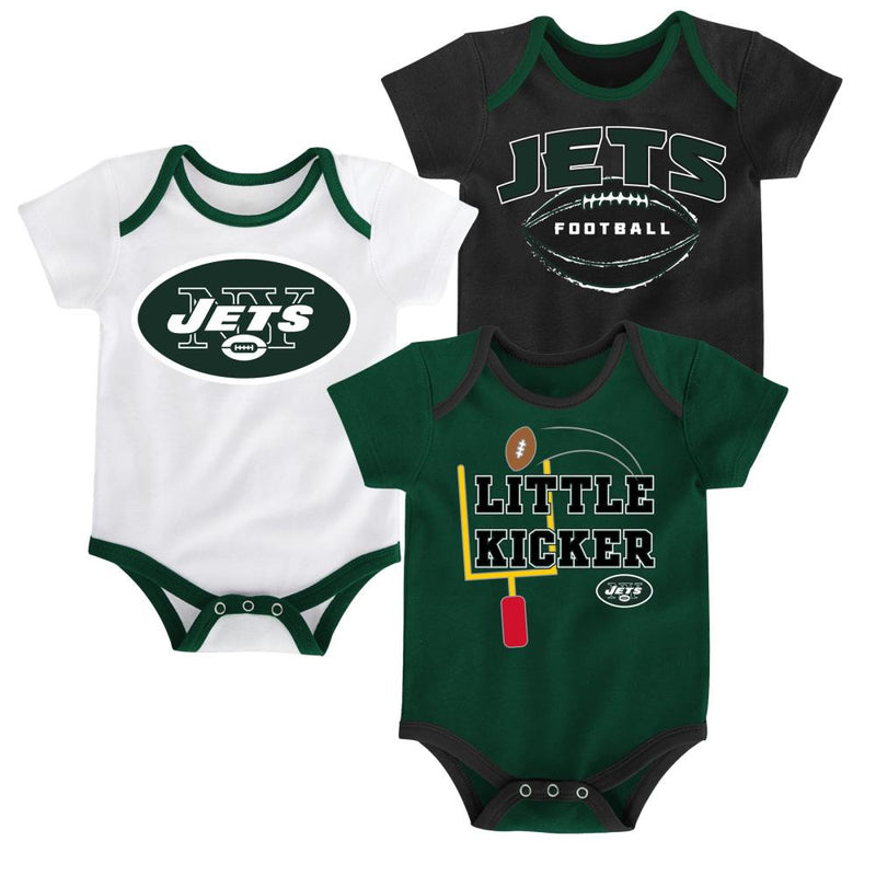 Jets Little Kicker Onesie 3-Pack