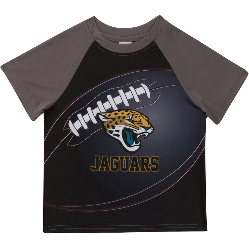 Jaguars Short Sleeve Football Tee (12M-4T)