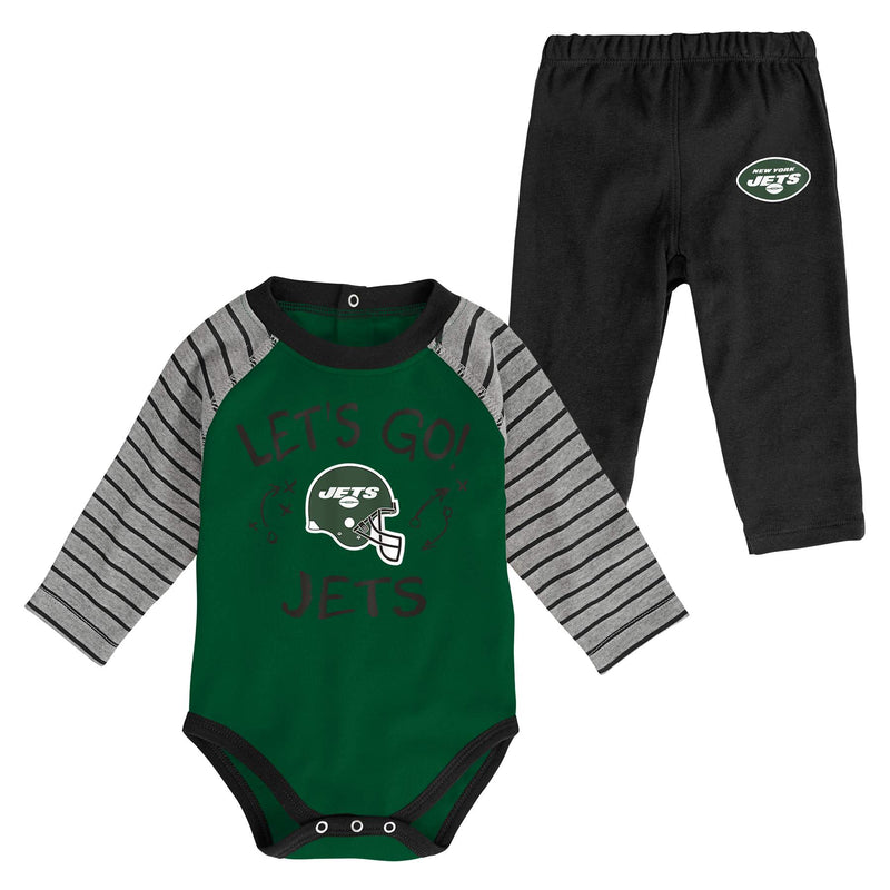 Jets Long Sleeve Bodysuit and Pants