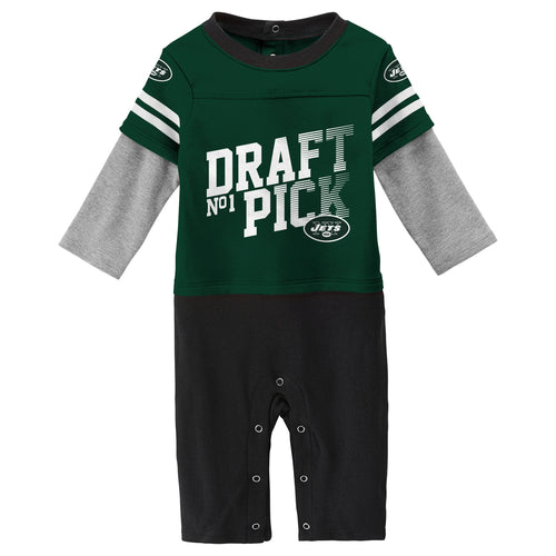 Jets Boy Long Sleeve Coverall