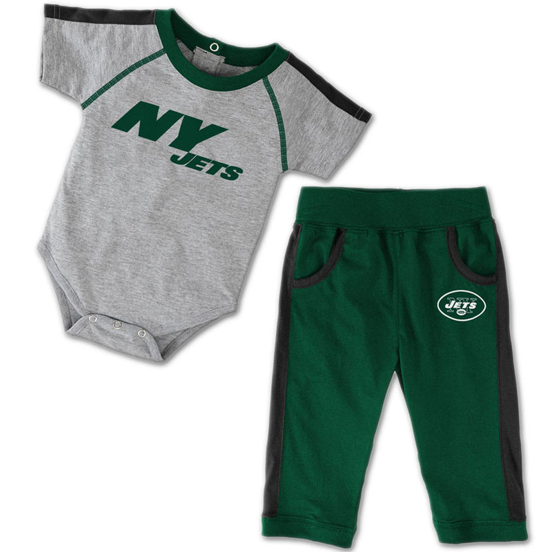 Baby Jets Short Sleeved Creeper & Pants Outfit