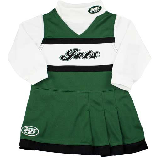 Jets Toddler Cheerleader Outfit