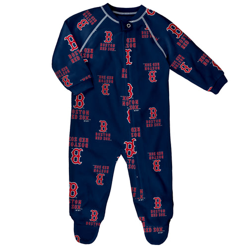 Boston Red Sox Infant Logo Pajamas