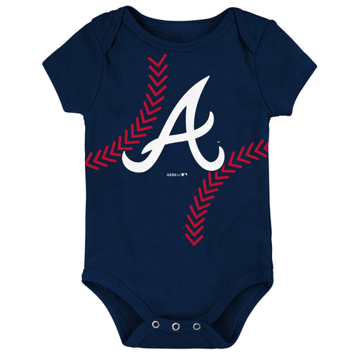 buy popular 93cb4 b39bd MLB Baby Clothing | Atlanta Braves– BabyFans.com – babyfans