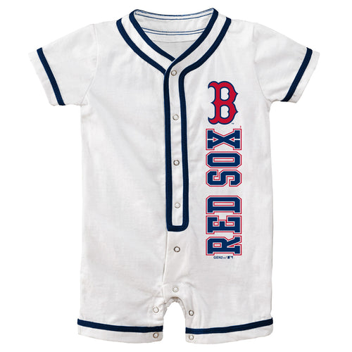 Red Sox Infant Short Sleeve Coverall