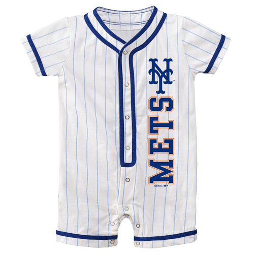 Mets Infant Short Sleeve Coverall